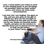 Prayer For Good Health:  Pray To Restore Any Sicknesses And Diseases