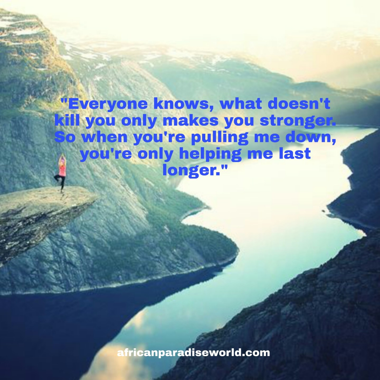 Overcoming adversity quotes by being stronger