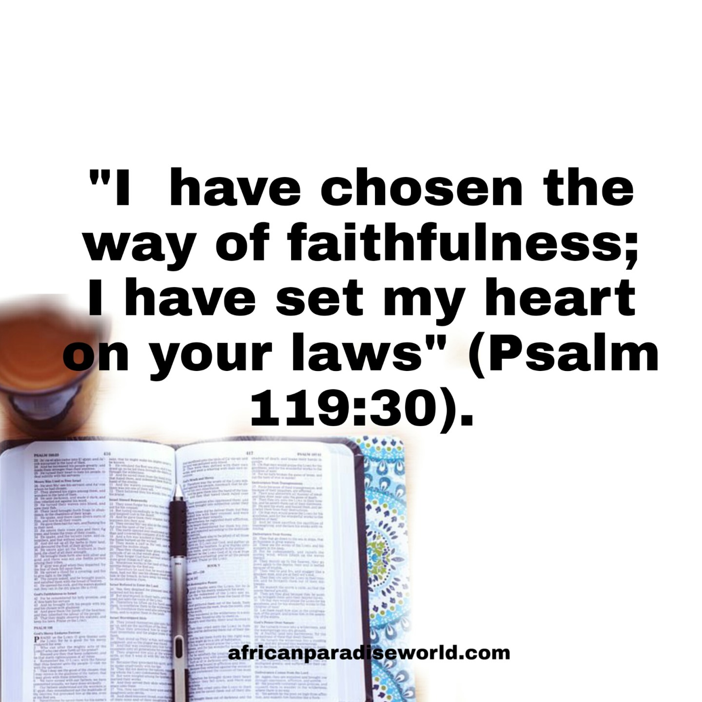 Bible verse about God's law