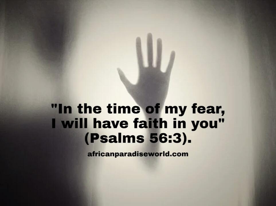 Faith over fear Bible verse