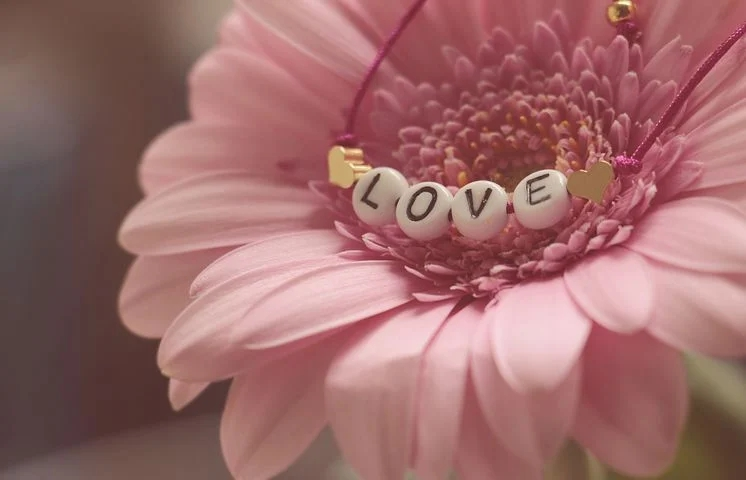Flower with love