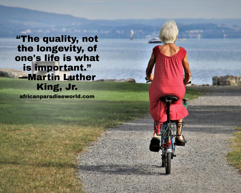 The quality of life matters quote