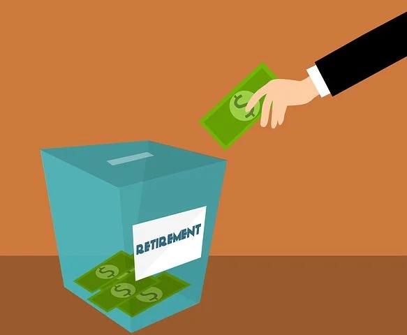 Savings box for retirement
