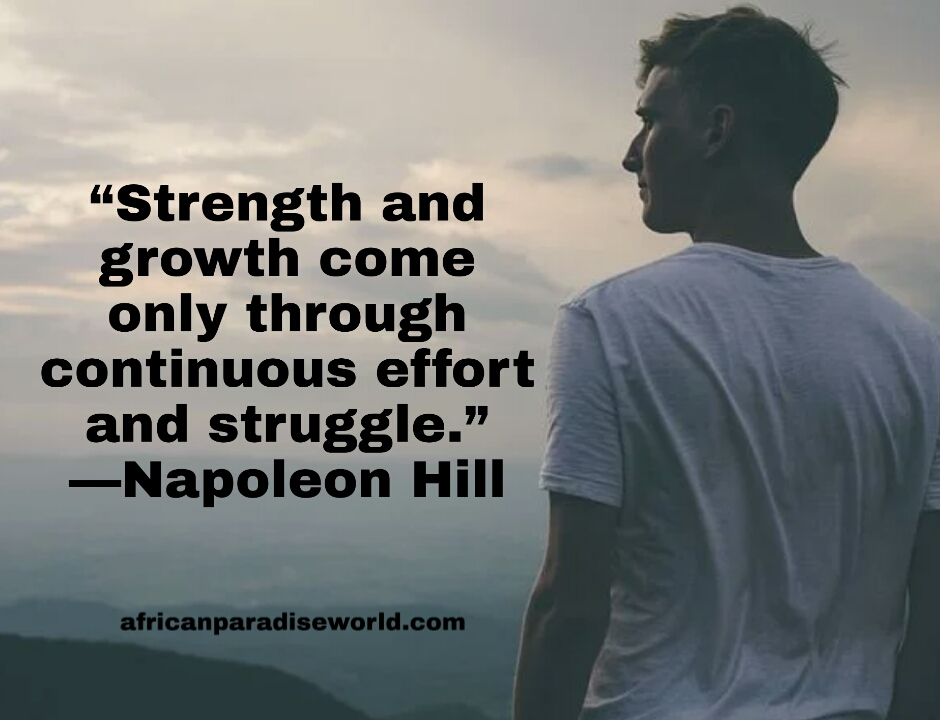 Effort quote to build strength