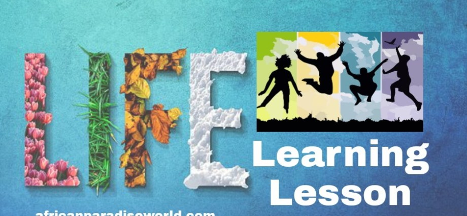 Life Learning Lesson Quotes