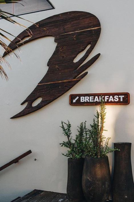 This way down to African Perfection Breakfast Restaurant