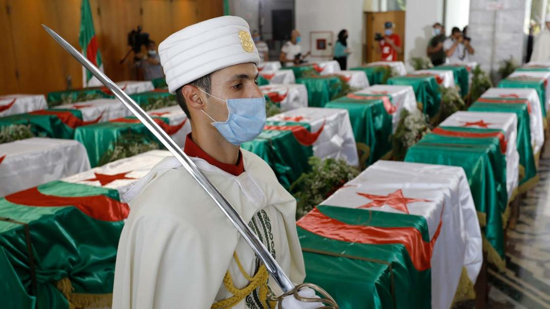 Algerian President in tears as France return skulls of 24 Algerian ...