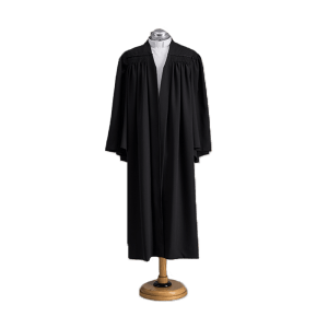 Gown front