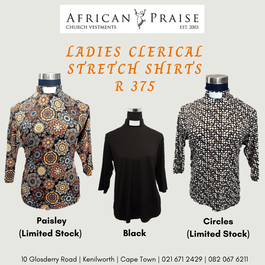 LADIES CLERICAL STRETCH SHIRTS