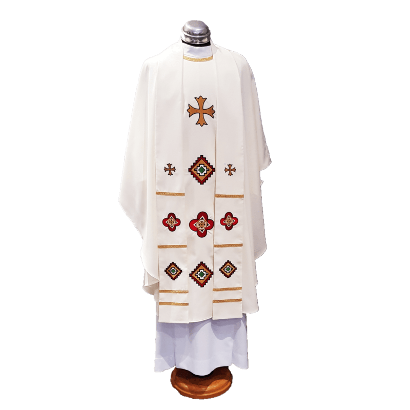 Chasuble & Stole African Motifs