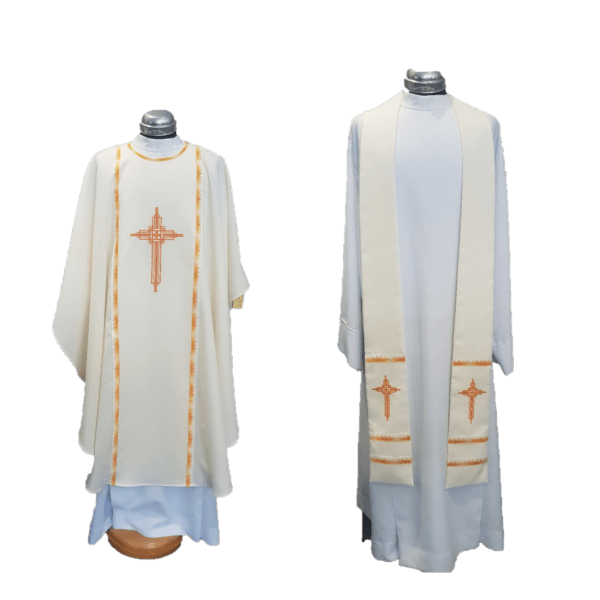 Chasuble & Stole George Cross