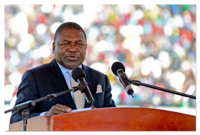 images filipe nyusi - Mozambique heads to polls amid uncertainty