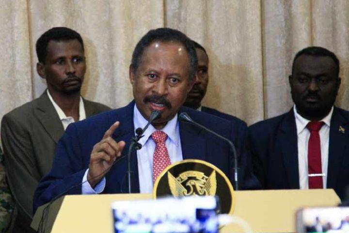 Sudan Prime Minister Abdallah Hamdok Egypt Omar Bashir