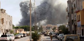Libya's Eastern forces carry out air strikes on city of Sirte