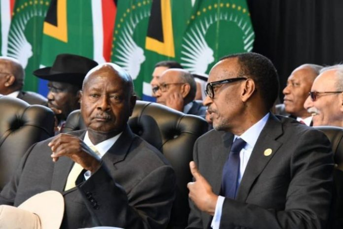 Government Rwanda Uganda Memorandum Understanding Mou President Yoweri