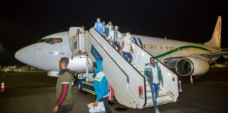 Rwanda receives second-batch of 182 migrants from Libya