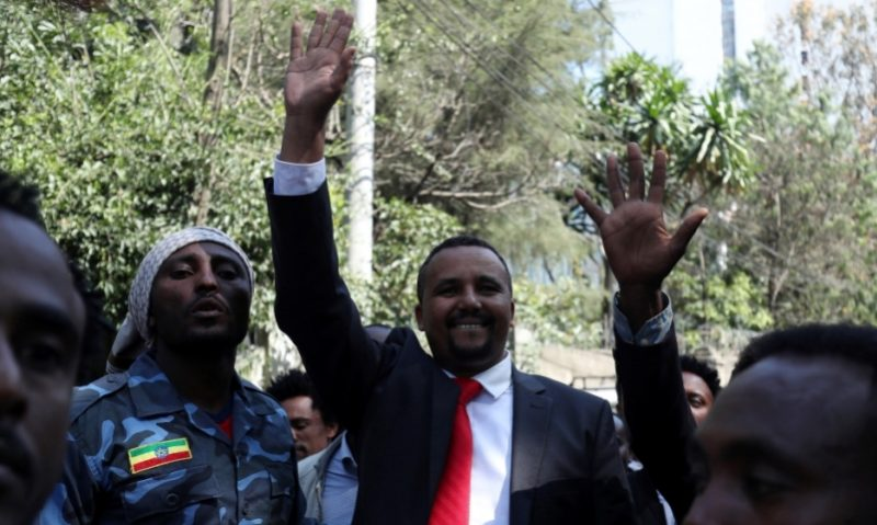 jawar mohammed oromo - Hundreds gathered outside house of Ethiopian activist after deadly day of protests