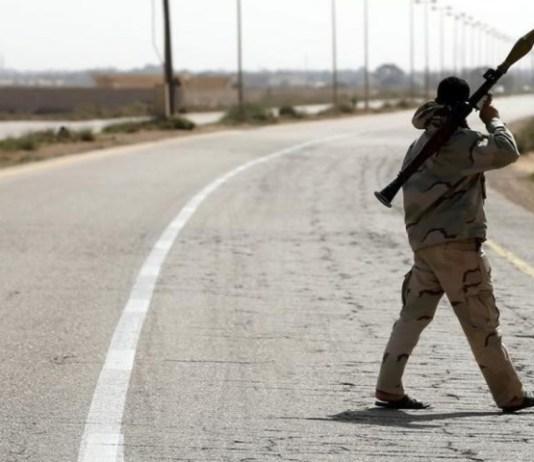 Gunmen wipe out 5 members of one family near Libya's Tripoli