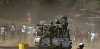 Police officer killed in clashes with protesters in Malawi