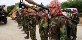 Somali al Shabaab militants ambush soldiers, killing 8