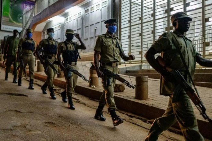 Uganda police to public; go home after voting