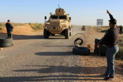 Four Tunisian soldiers die as mine hits operation vehicle