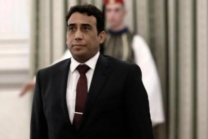 Libya new interim president Menfi, holds talks in Benghazi