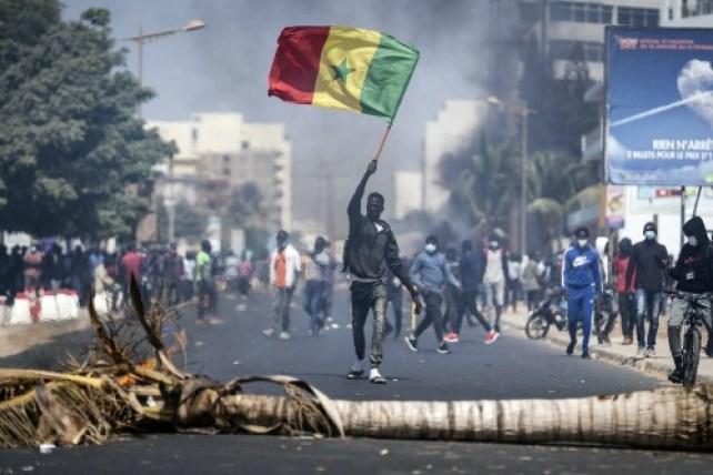 Senegal top opposition Sonko arrested amid violent protests