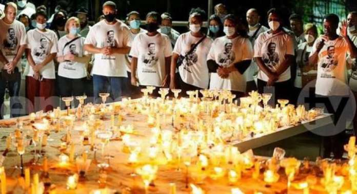 Fire breaks out during TB Joshua's candlelight memorial