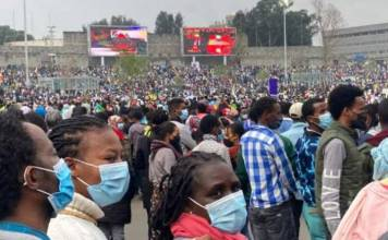 express support for Ethiopia army in conflict