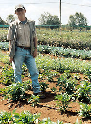 Jos Creemers from Baraka Farm