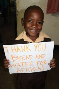 Thank you Bread and Water