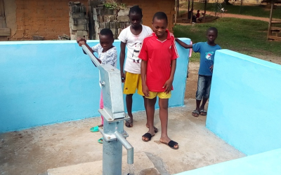 """Borehole for Abomvomba Village, Cameroon: """"Objective Achieved"""""""