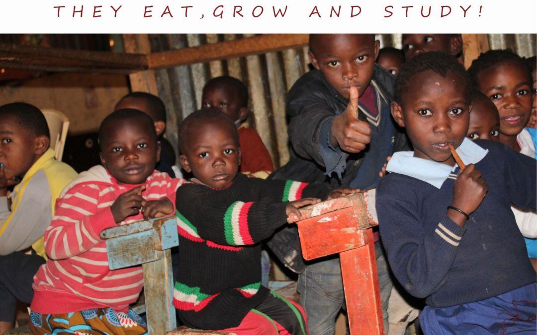 They Eat, Grow, Study: School Feeding Changing Life in Kenya!
