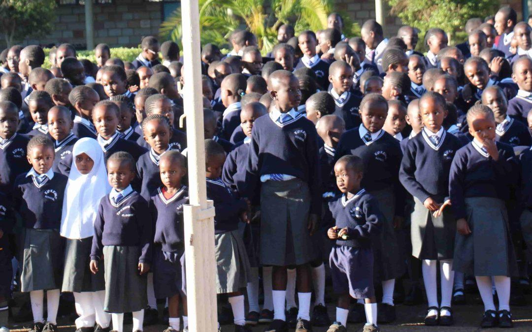 BWA -- Kipkeino Primary School students outside