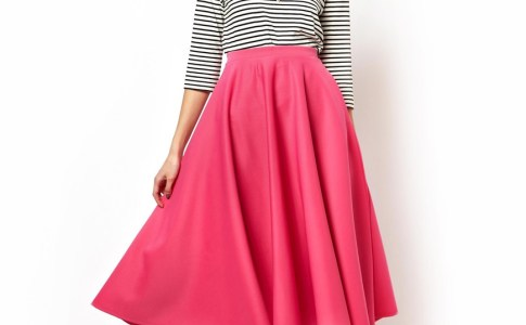 How To Wear A Full Skirt