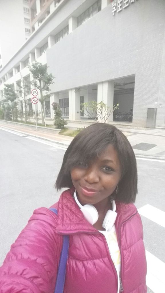 Ghana medical student in China