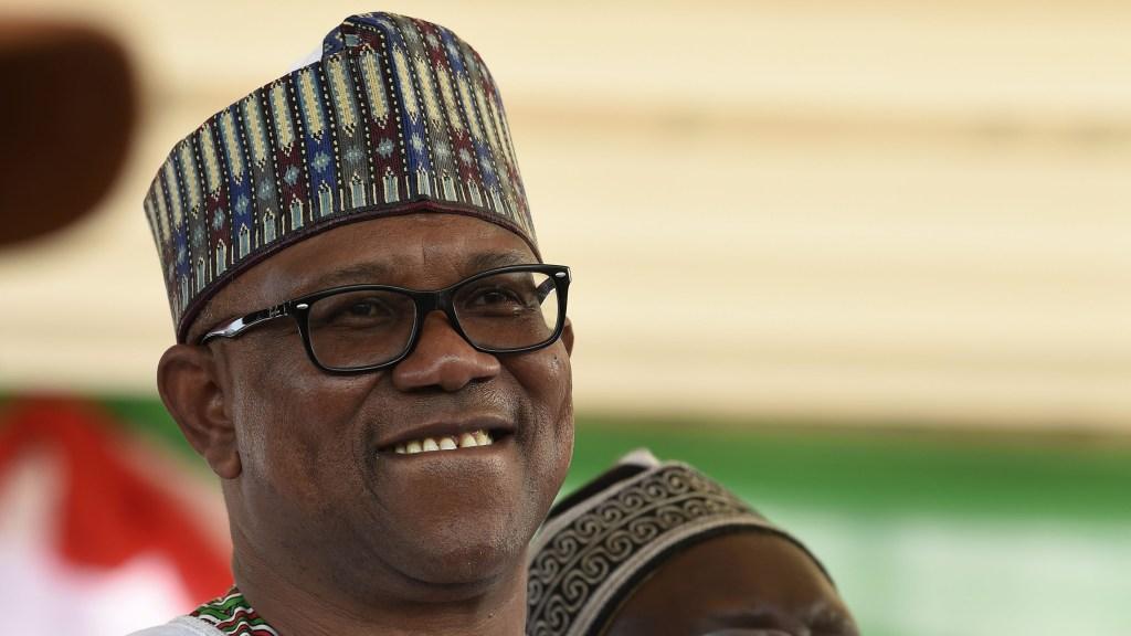 Nigerian Presidential candidate Peter Obi
