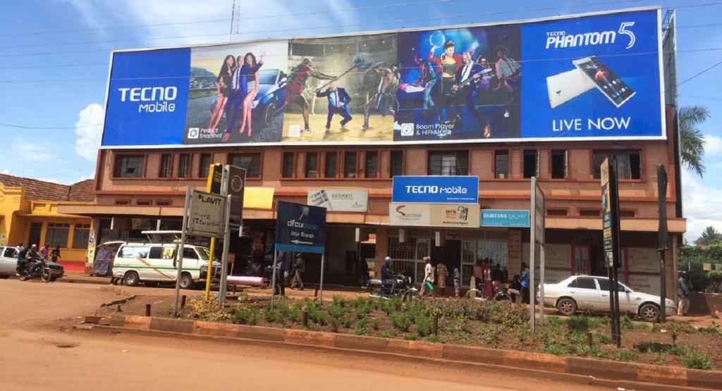 Tecno ads in Africa