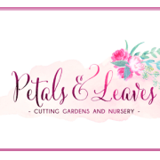 Petals & Leaves Cutting Gardens and Nursery logo