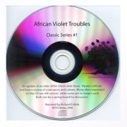 African Violet Troubles Classic CD Narrated by Richard Follett