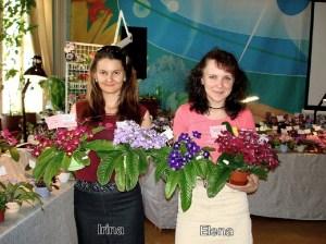 Irina Kabanova and Elena Trofimenko