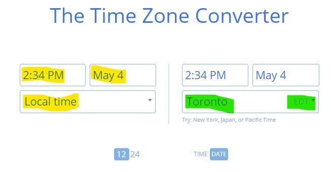 Time Zone Converter 1