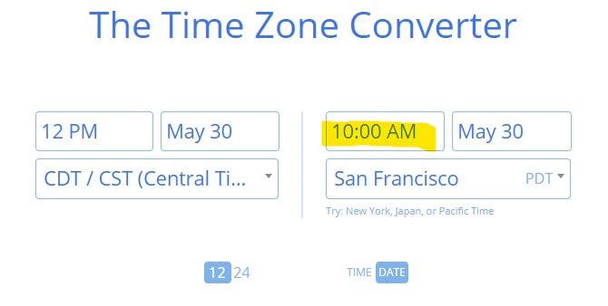 Time Zone Converter 2 1