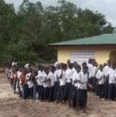Children at school in Liberia Nimba
