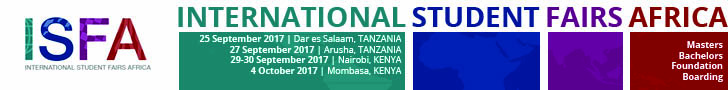 International Students Fairs Africa, Fall 2017