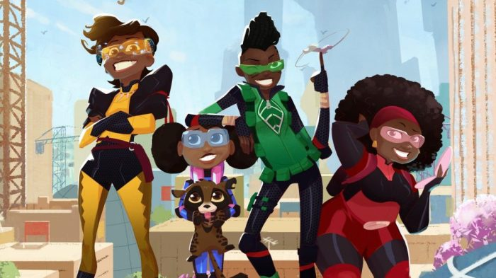 Netflix Picks Up Its First Animated Series From Africa, 'Mama K's Team 4'
