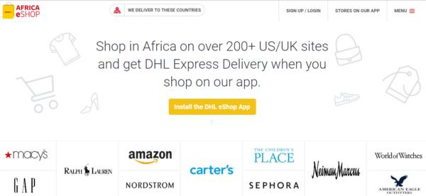 DHL Expands eShop Platform Across Africa