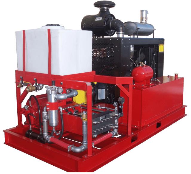 Diesel 250T J3 Pumping System