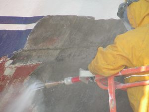 water blasting surface preparation